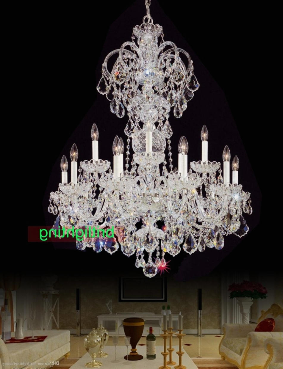 Latest Big Chandeliers Pertaining To Home Decor: Chandeliers Design : Dining Room Chandeliers Chandelier (View 6 of 15)