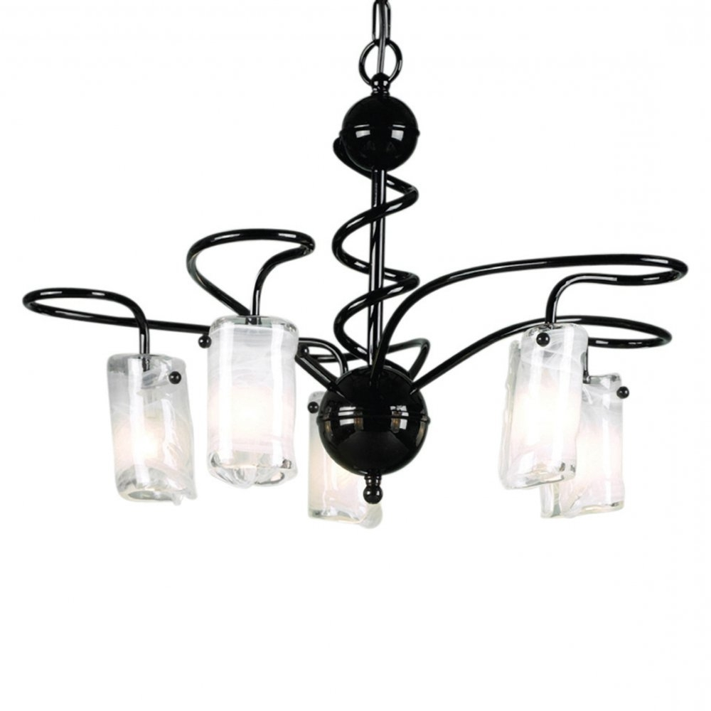 Latest Black Contemporary Chandelier Inside Chandelier (View 10 of 15)