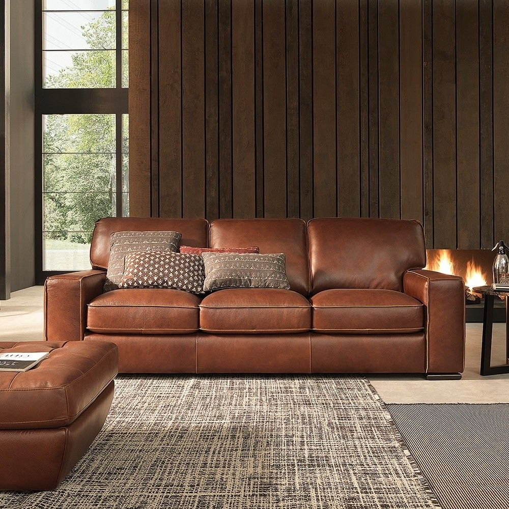 Latest Campbell Sofa #leather (View 5 of 15)