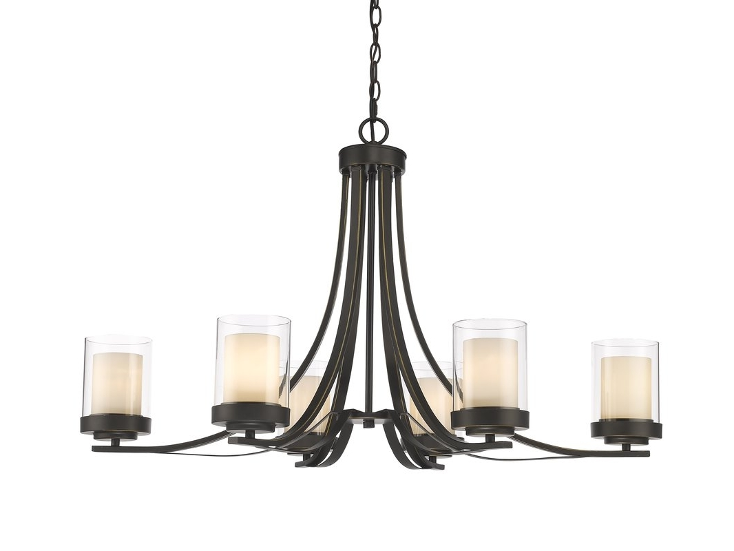 Latest Candle Light Chandelier Intended For World Menagerie Cheyne 6 Light Candle Style Chandelier & Reviews (View 10 of 15)