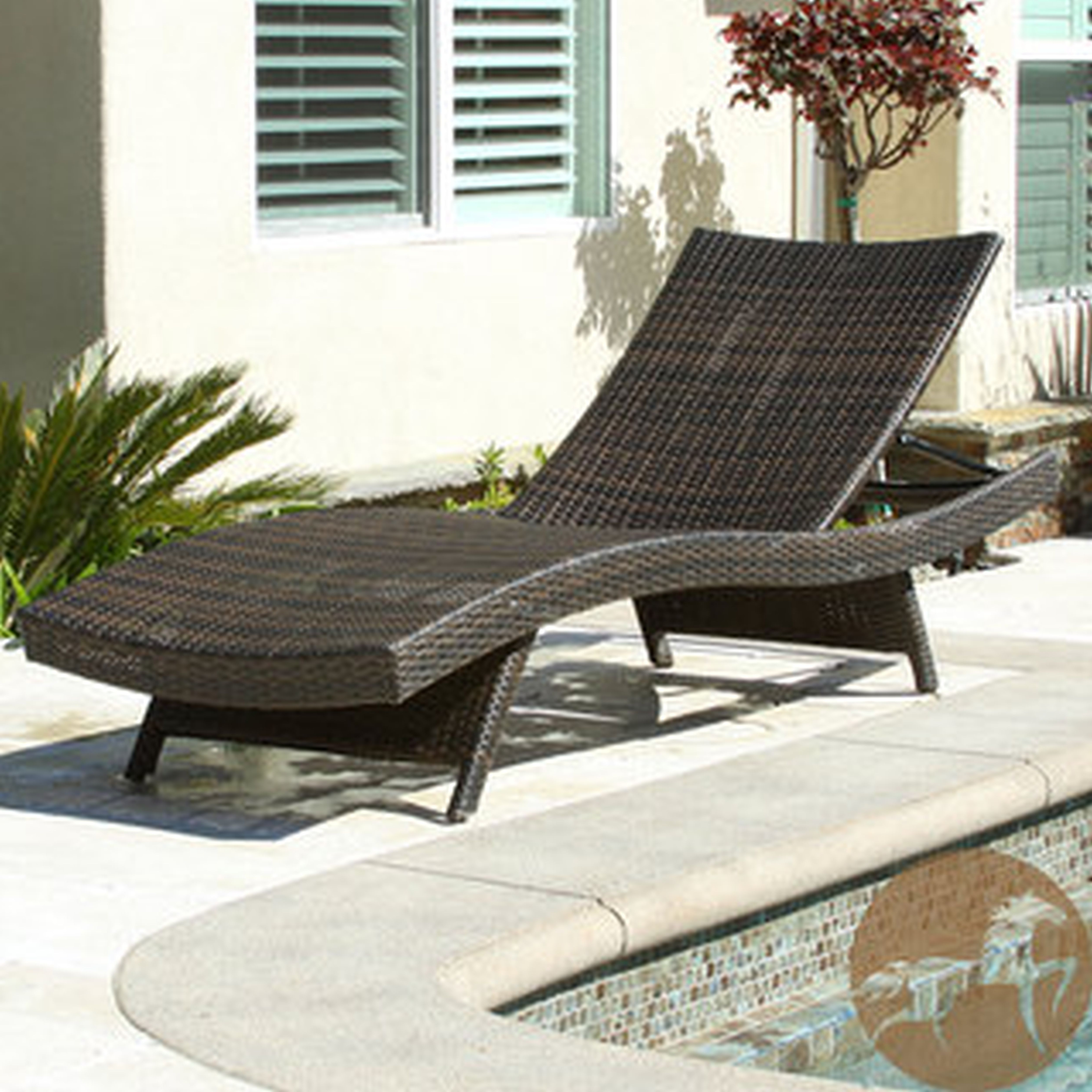 Latest Chaise Lounge Chairs At Lowes Inside Furniture: All Weather Wicker Patio Furniture Design With Lowes (View 9 of 15)