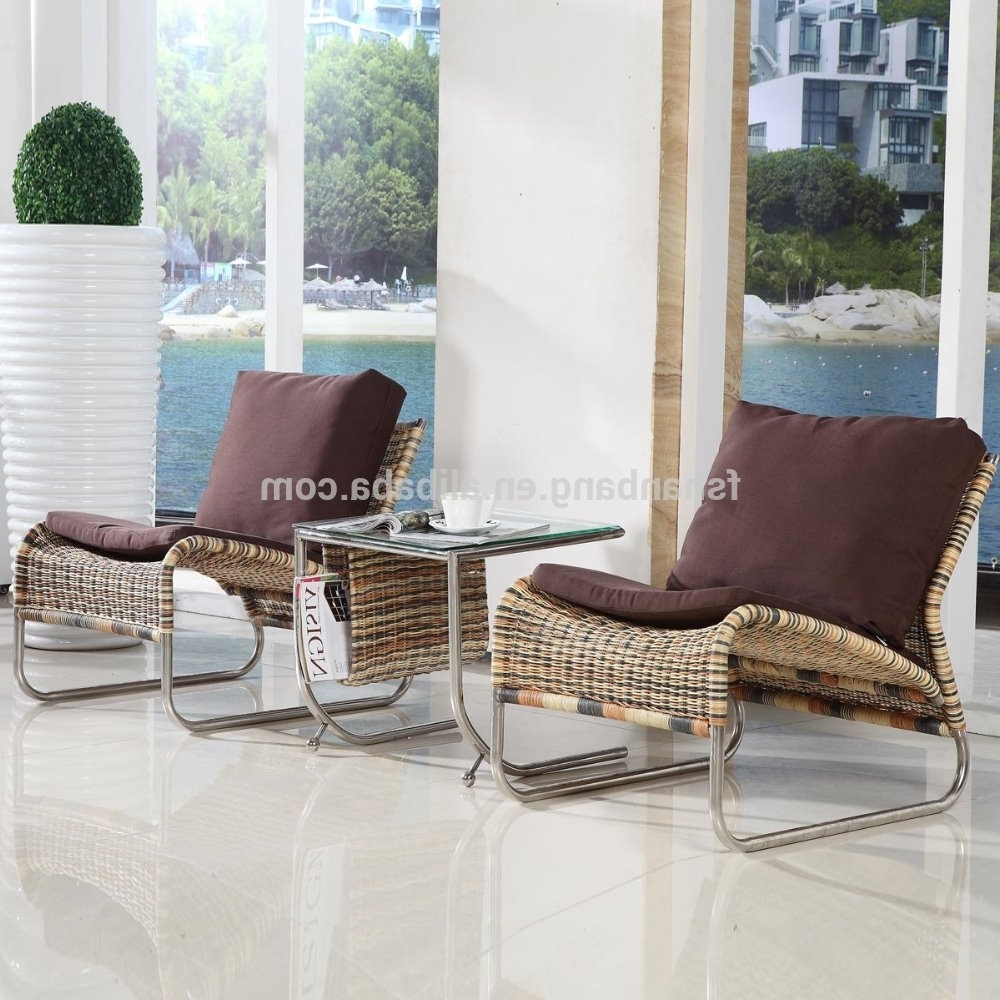 Latest Chaise Lounge Chairs For Sunroom With Regard To New Designed Modern Portable Indoor Rattan Hand Woven Wicker (View 9 of 15)