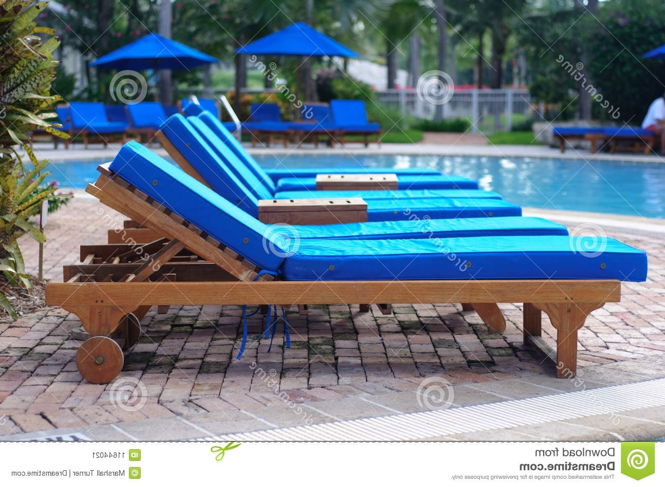 Latest Chaise Lounge Chairsthe Pool Stock Image – Image Of Holiday Throughout Chaise Lounge Chairs For Poolside (View 7 of 15)