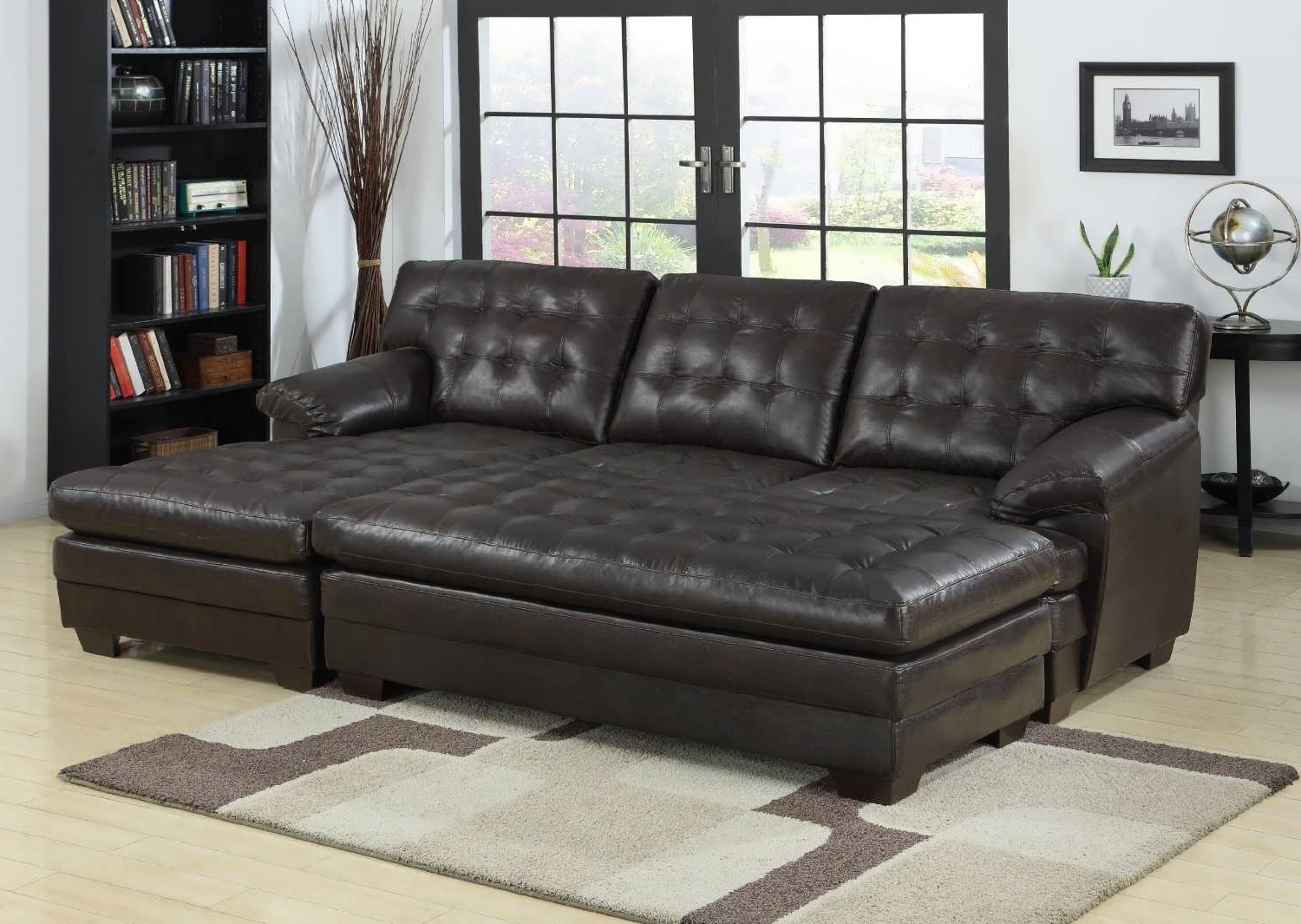 Latest Chaise Lounge Sectionals Within Sofa : Sectional Sofas Big Sectional Couch Wrap Around Couch Best (View 8 of 15)