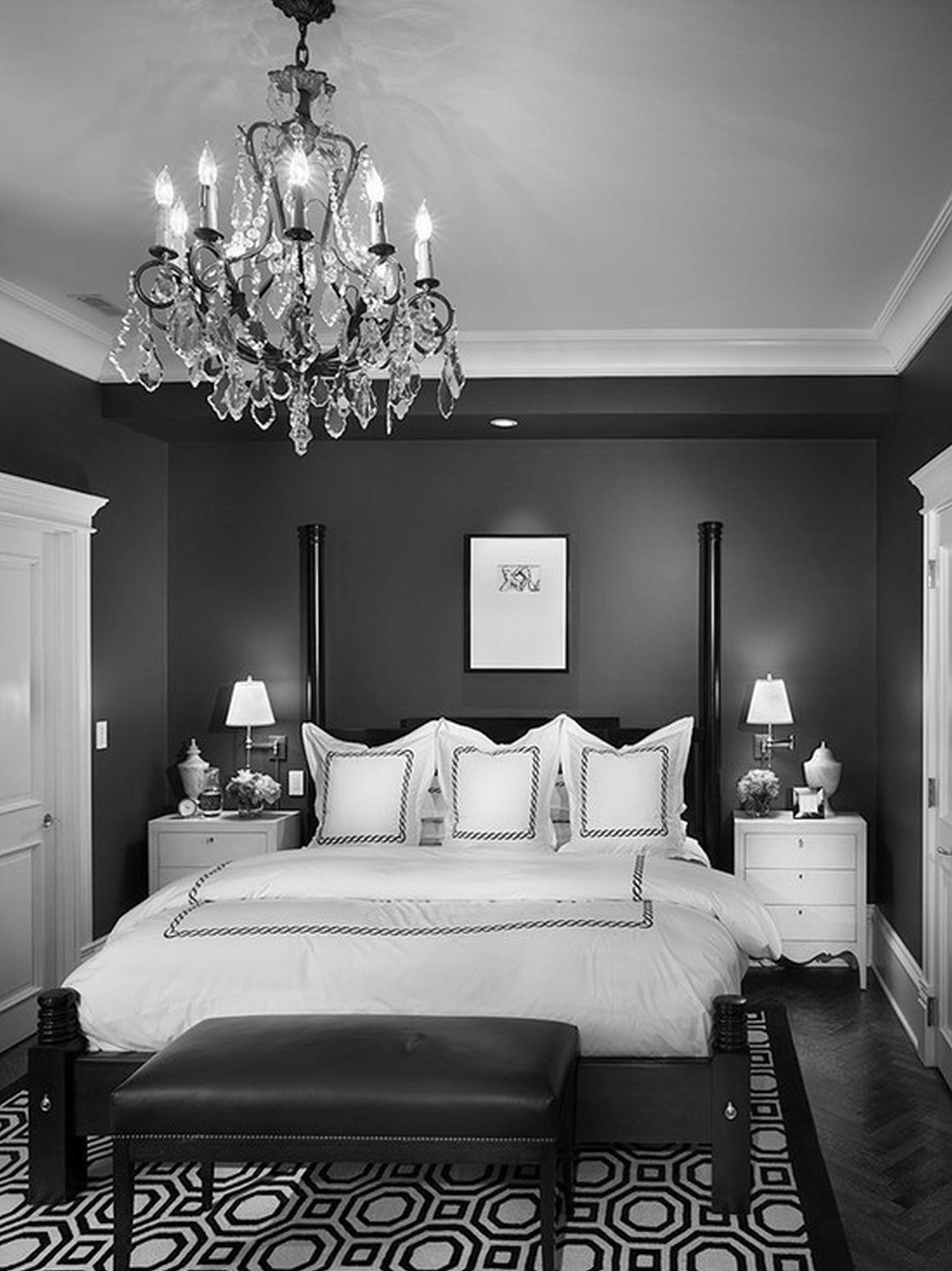 Latest Chandeliers : Black Chandelier For Bedroom Best Of Mini Chandeliers Throughout Black Chandelier Bedroom (View 7 of 15)