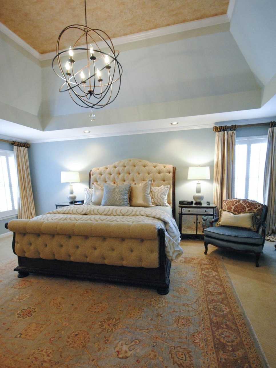 Featured Photo of Chandeliers In The Bedroom