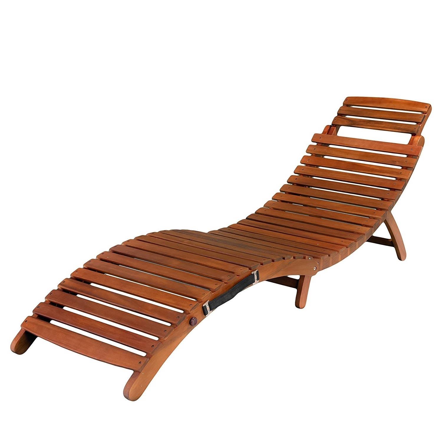 Latest Cheap Folding Chaise Lounge Chairs For Outdoor Within Amazon: Best Selling Del Rio Wood Outdoor Chaise Lounge (View 12 of 15)