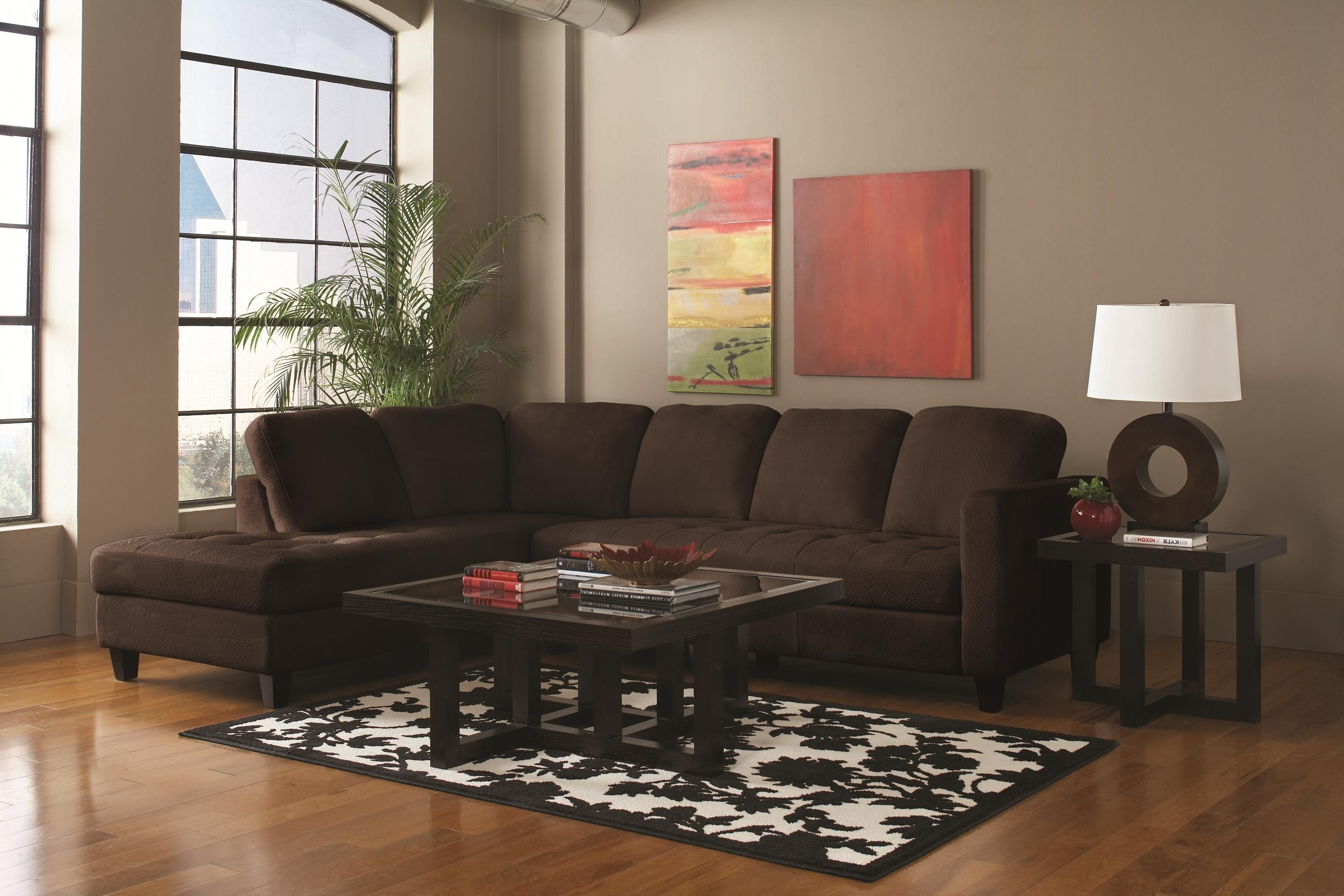 Latest Coffee Tables For Sectional Sofa With Chaise Within Best Coffee Table For Sectional Couch – Laphotos (View 6 of 15)