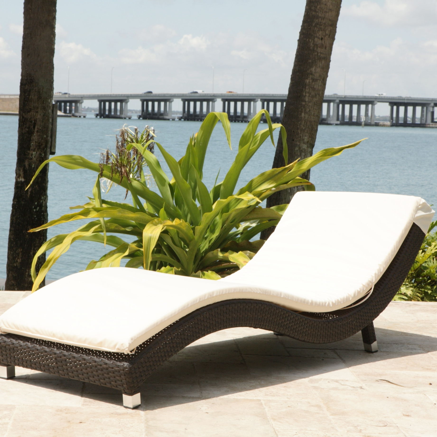 Latest Convertible Chair : Lounge Cushions Chaise Lounge Pillows Cheap With Cushion Pads For Outdoor Chaise Lounge Chairs (View 8 of 15)