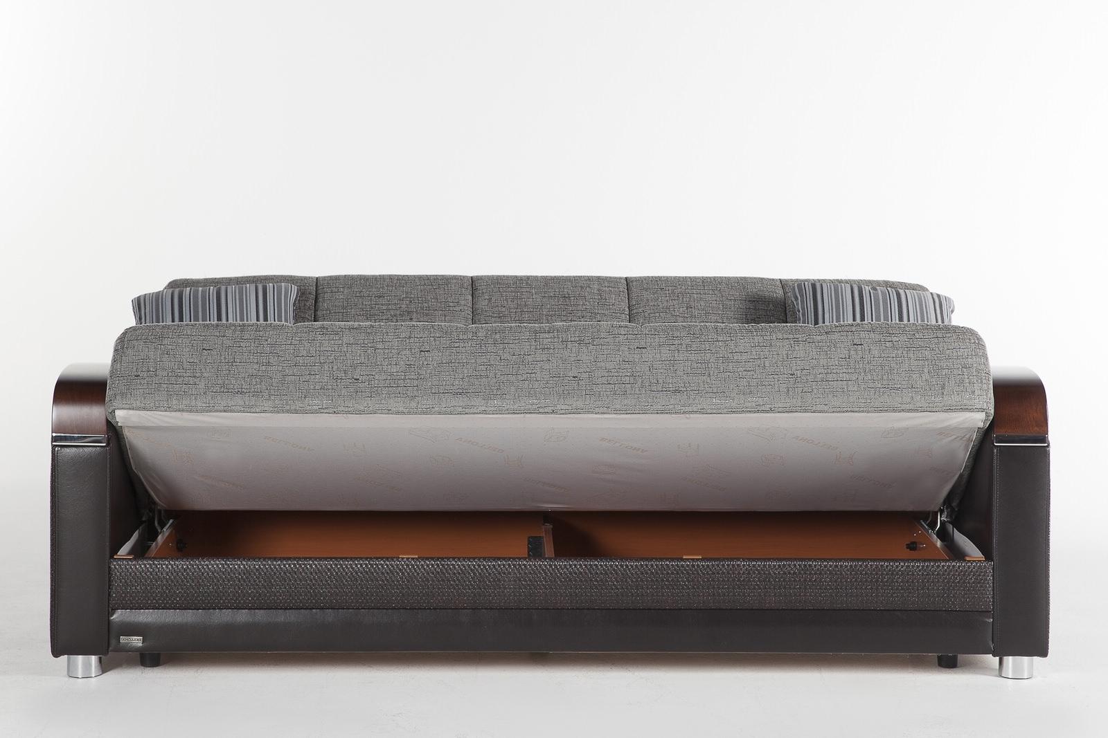 Latest Convertible Sofas In Luna Fulya Gray Convertible Sofa Bedistikbal (Sunset) (View 14 of 15)