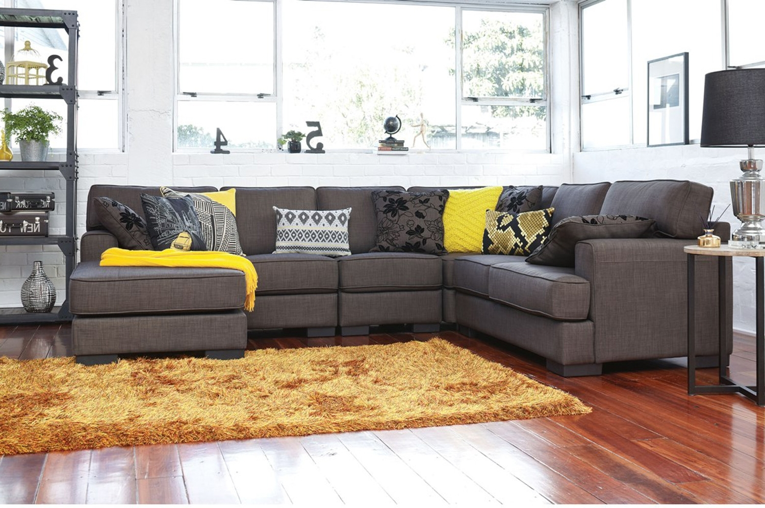 Latest Corner Chaise Lounges For Harvey Norman – Slate 6 Seat Corner Chaise Lounge  This Would Be (View 5 of 15)