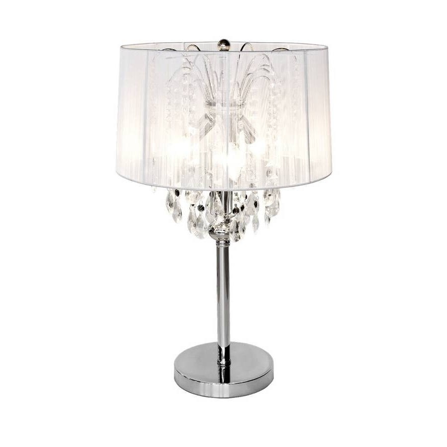 Latest Crystal Table Chandeliers With Chandelier (View 6 of 15)