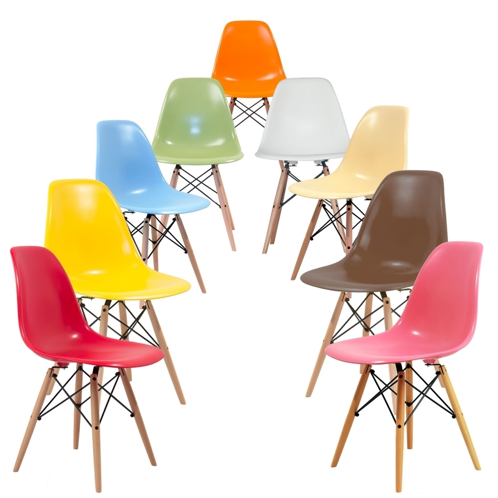 Latest Eames La Chaises Intended For Acheter Une Chaise D'inspiration Eames (View 5 of 15)