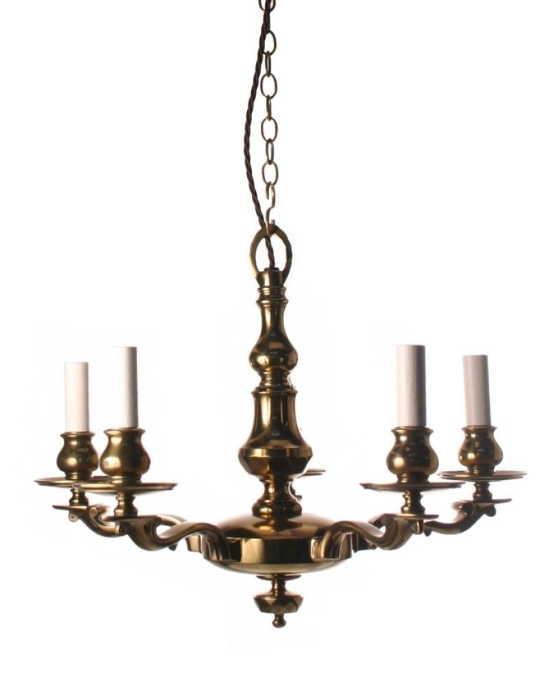 Latest Edwardian Chandelier In Brass Edwardian Chandelier (View 9 of 15)