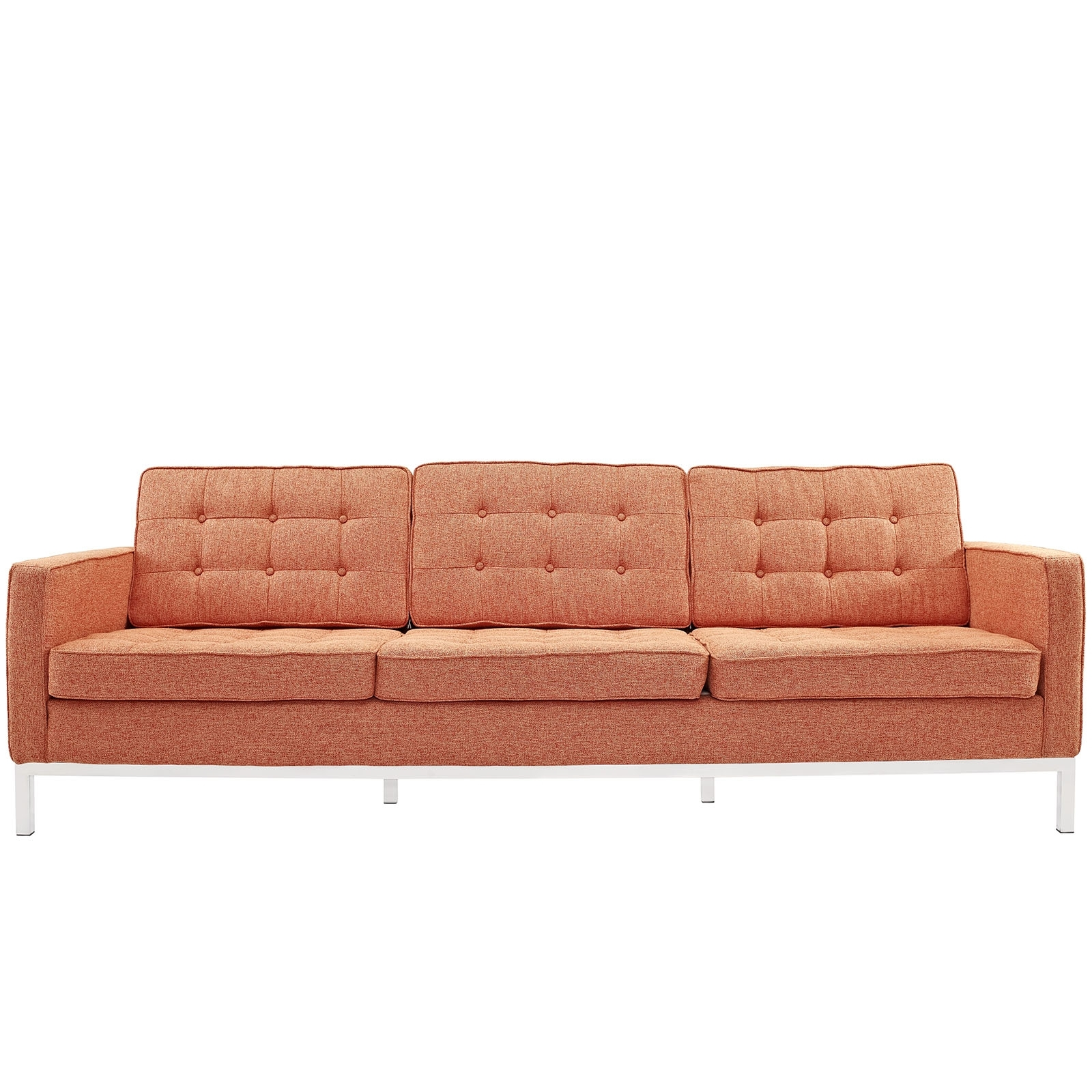 Latest Florence Knoll Style Sofas For Florence Knoll Style Sofa Couch – Wool (View 13 of 15)