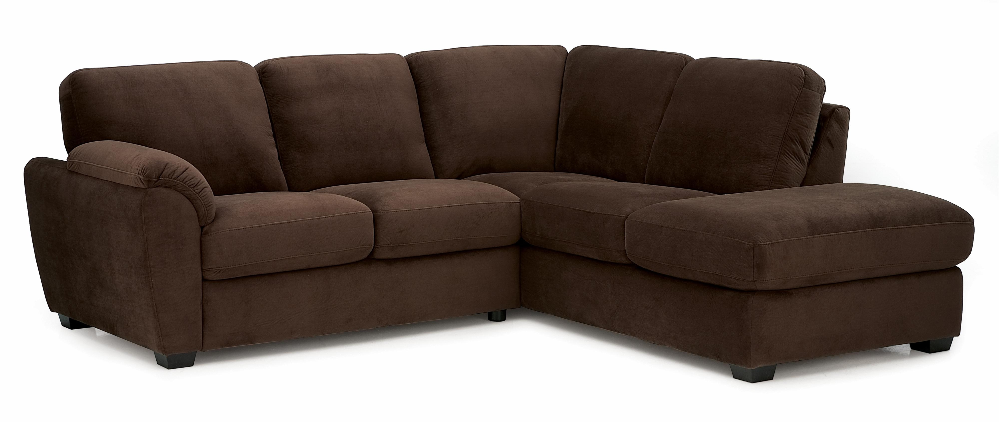 Latest Lanza Two Piece Sectional Sofa With Rhf Chaisepalliser (View 12 of 15)