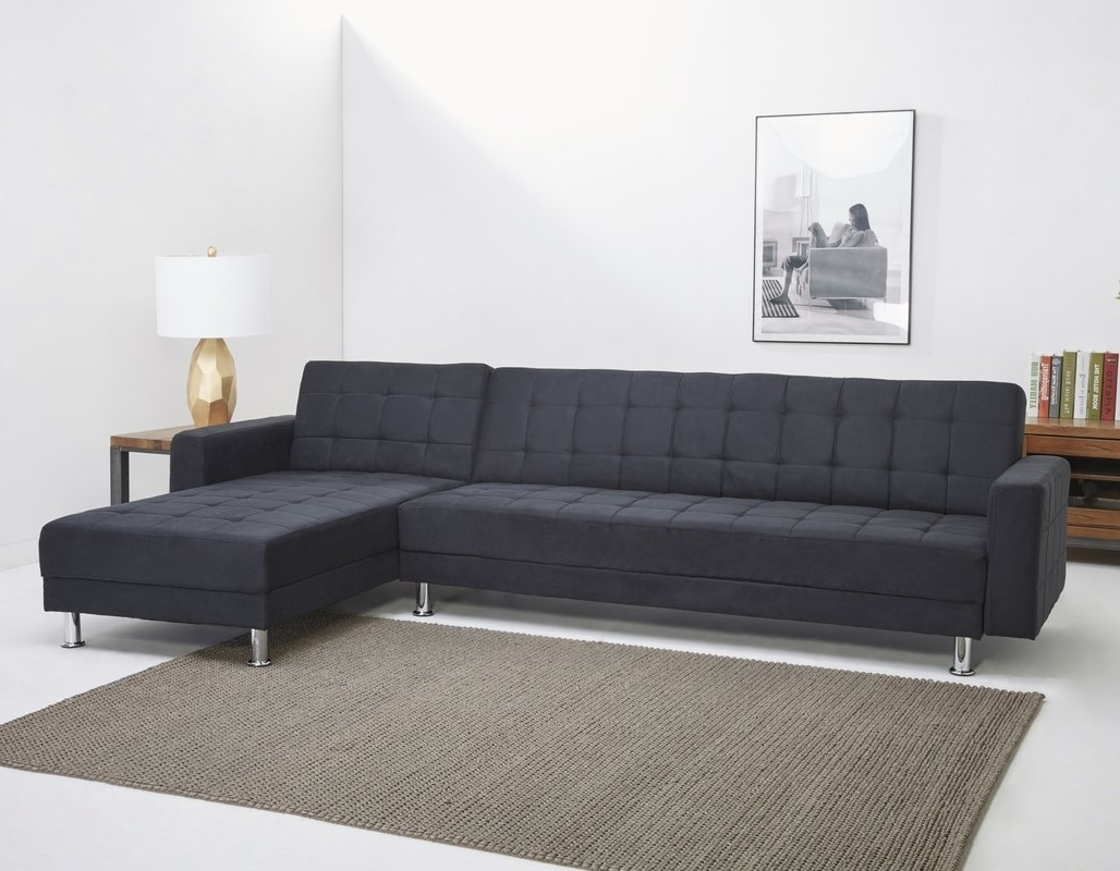 Latest Leader Lifestyle Modular Corner Sofa Bed & Reviews (View 7 of 15)