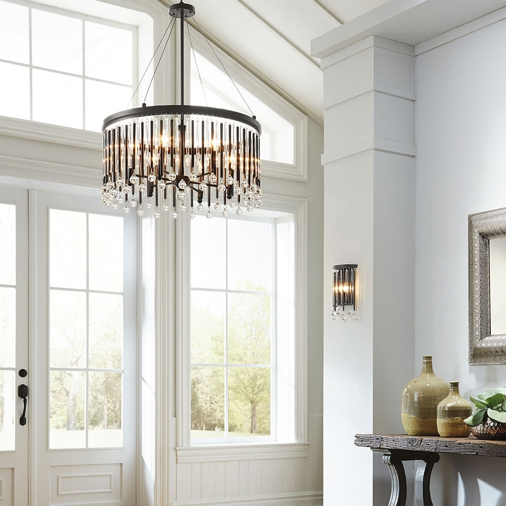 Latest Light Fixture : Hallway Lighting Tips And Ideas Chandelier Size For With Regard To Chandeliers For Hallways (View 13 of 15)