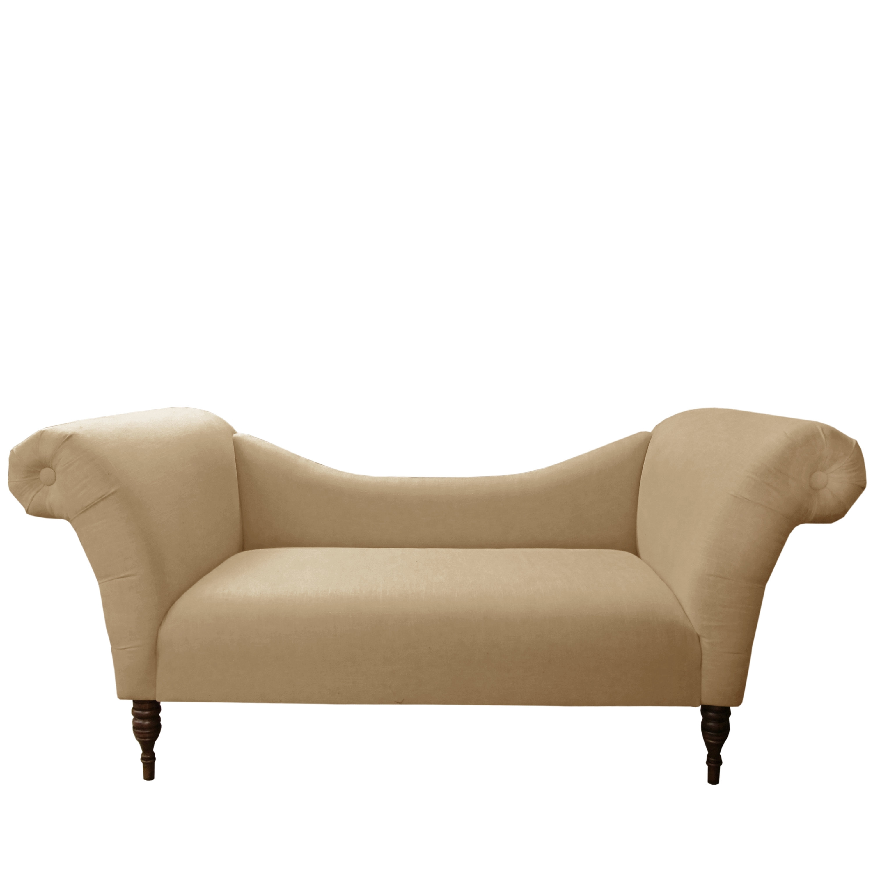 Latest Linen Chaise Lounges For House Of Hampton Linen Chaise Lounge & Reviews (View 11 of 15)