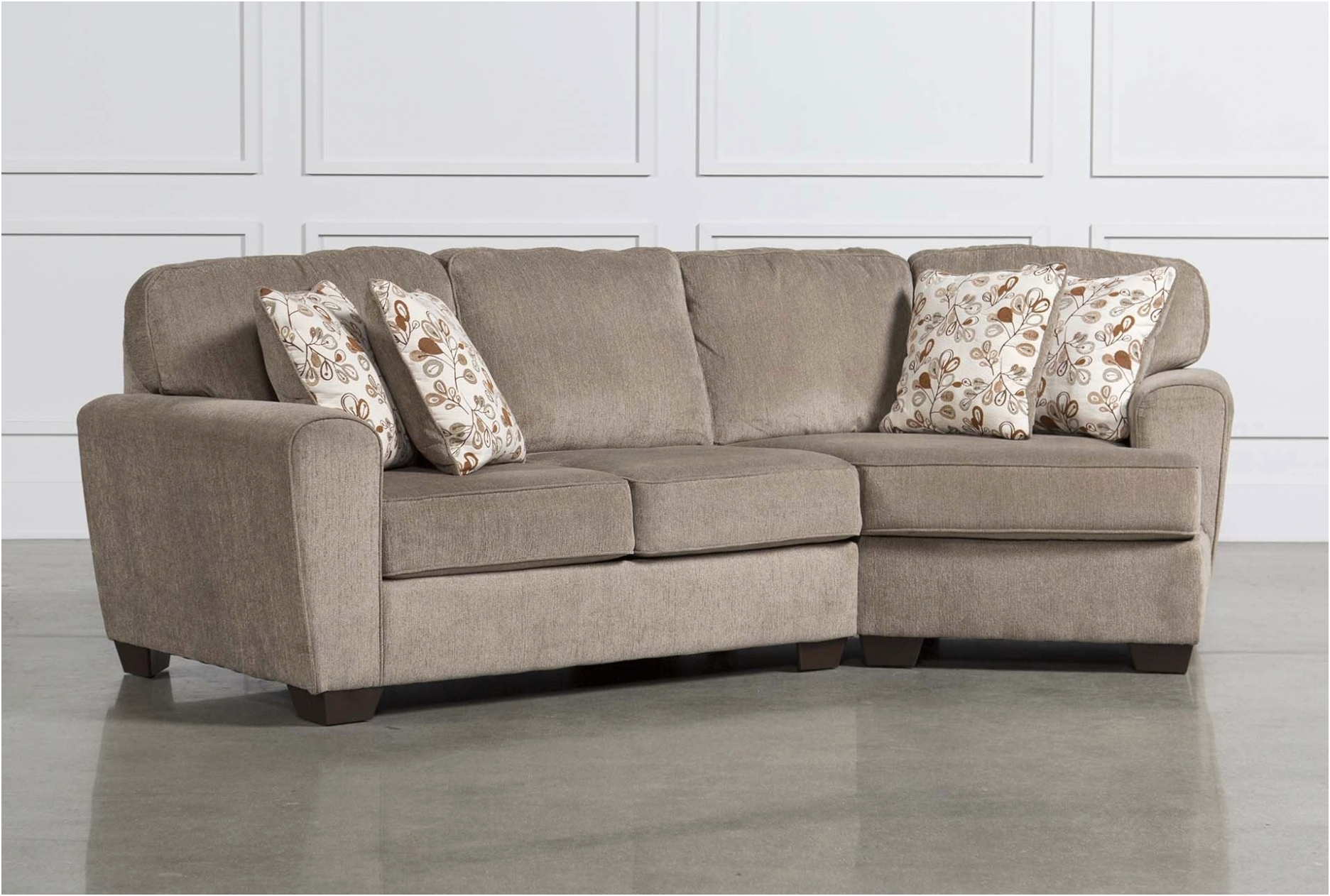 Latest Living Spaces Sectional Sofas Within Furniture: Fresh Sectional Sofa With Cuddler Chaise New – Sofa (View 3 of 15)