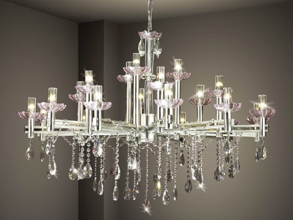 Latest Modern Chandelier : Amazing Crystal Contemporary Chandelier Design With Regard To Contemporary Modern Chandeliers (View 9 of 15)