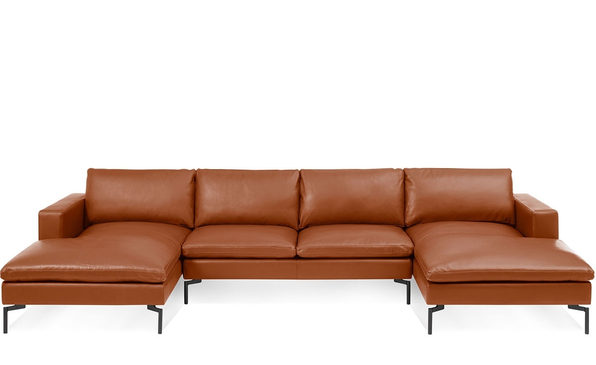 Latest New Standard U Shaped Leather Sectional Sofa – Hivemodern With U Shaped Leather Sectional Sofas (View 5 of 15)