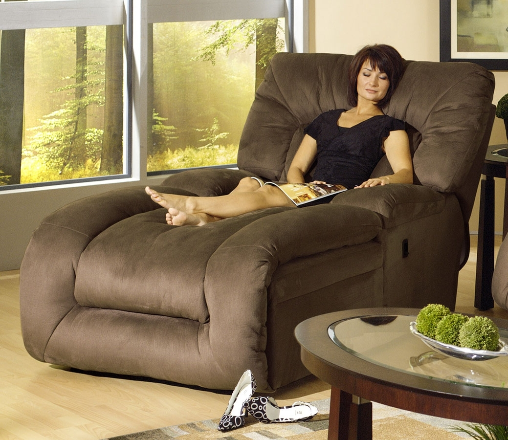 Latest Recliner Chaise Lounges Intended For Catnapper Jackpot Reclining Chaise Cn 3989 At Homelement (View 5 of 15)