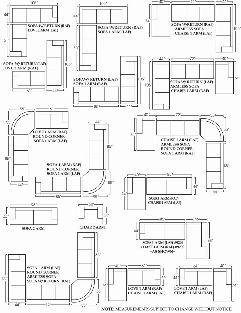 Latest Sectional Sofas By Size For Sofa Small Sectional Dimensions Length Darcy Standardh Sizes (View 15 of 15)