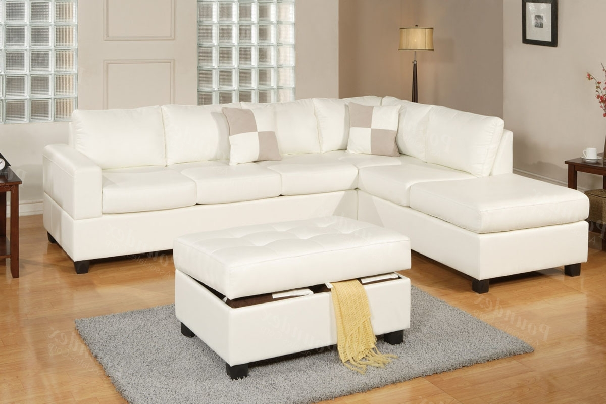 Latest Sectional W/ Ottoman (View 6 of 15)