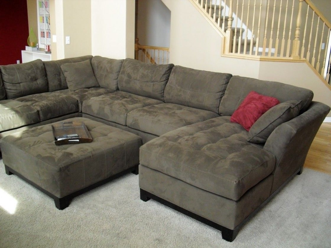 Latest Simple Living Room Decorating Ideas With Cheap U Shaped Fabric For On Sale Sectional Sofas (View 6 of 15)