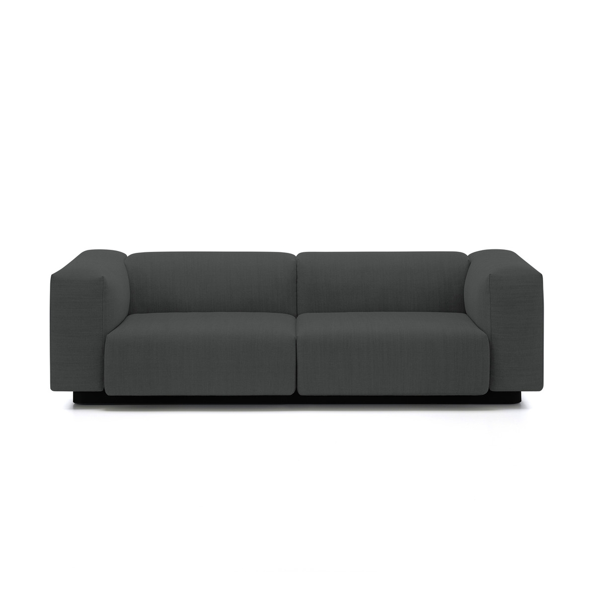 Latest Soft Sofas Inside Soft Modular 2 Seater Sofa From Vitra In The Connox Shop (View 2 of 15)