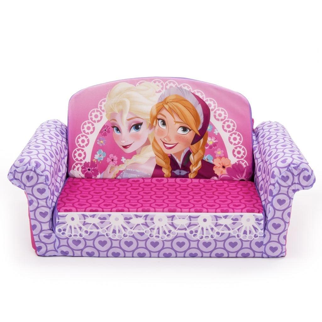 Latest Spin Master – Marshmallow Furniture Flip Open Sofa Disney Frozen Regarding Disney Sofa Chairs (View 12 of 15)