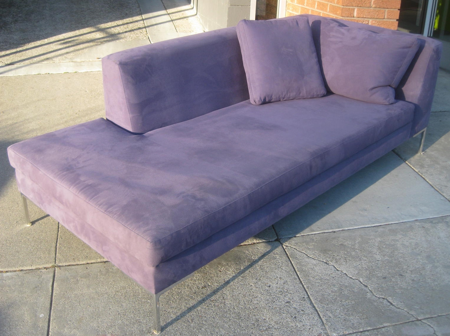 Latest Uhuru Furniture & Collectibles: Sold  Purple Chaise Lounge + With Regard To Purple Chaise Lounges (View 6 of 15)
