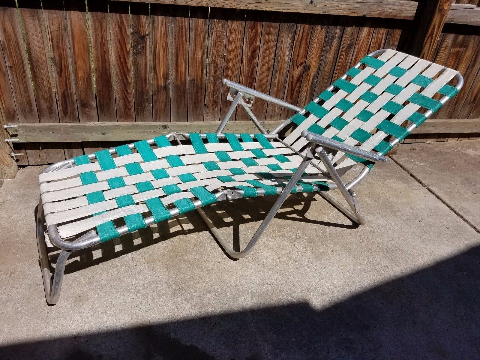 Latest Vintage Aluminum Lounge Chair • Lounge Chairs Ideas With Vintage Outdoor Chaise Lounge Chairs (View 3 of 15)