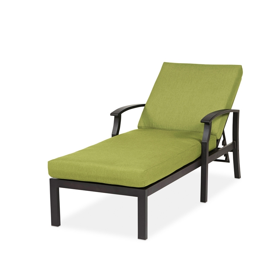 Latest Vinyl Chaise Lounge Chairs With Outdoor : Cheap Lounge Chairs Vinyl Strap Chaise Lounge Home Depot (View 3 of 15)