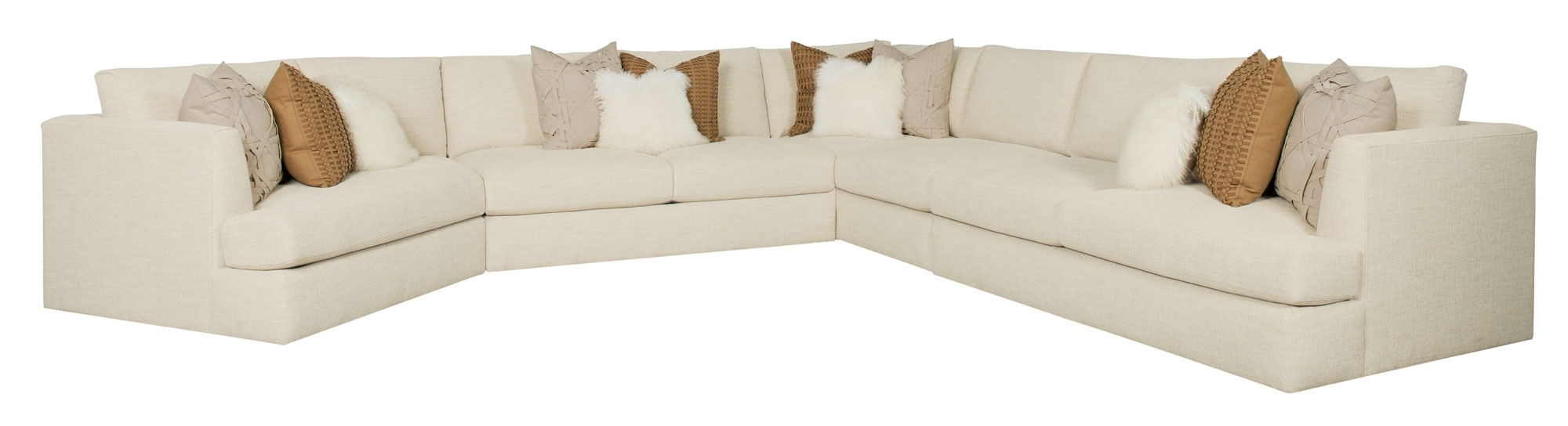 Latest Vt Sectional Sofas With Regard To Furniture : Corner Sofa Rattan Corner Couch Sofa Bed Corner Couch (View 6 of 15)