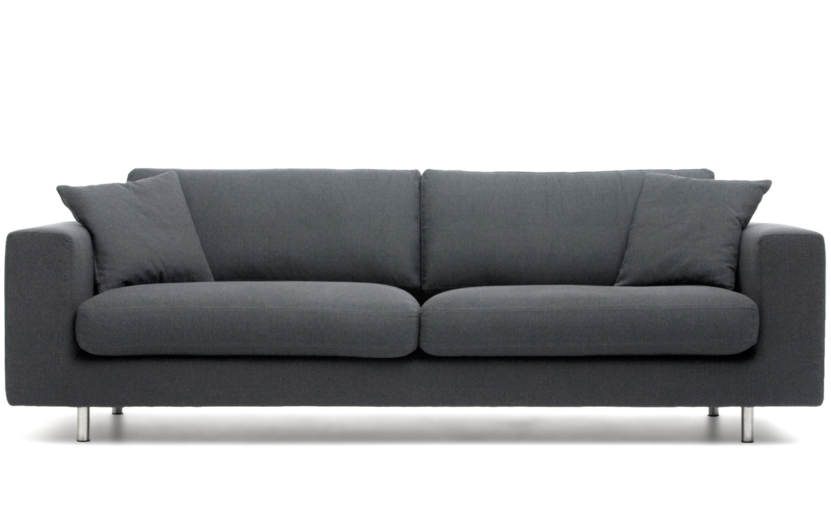 Latest Wide Arm 2 Seat Sofa – Hivemodern In Modern 3 Seater Sofas (View 8 of 15)