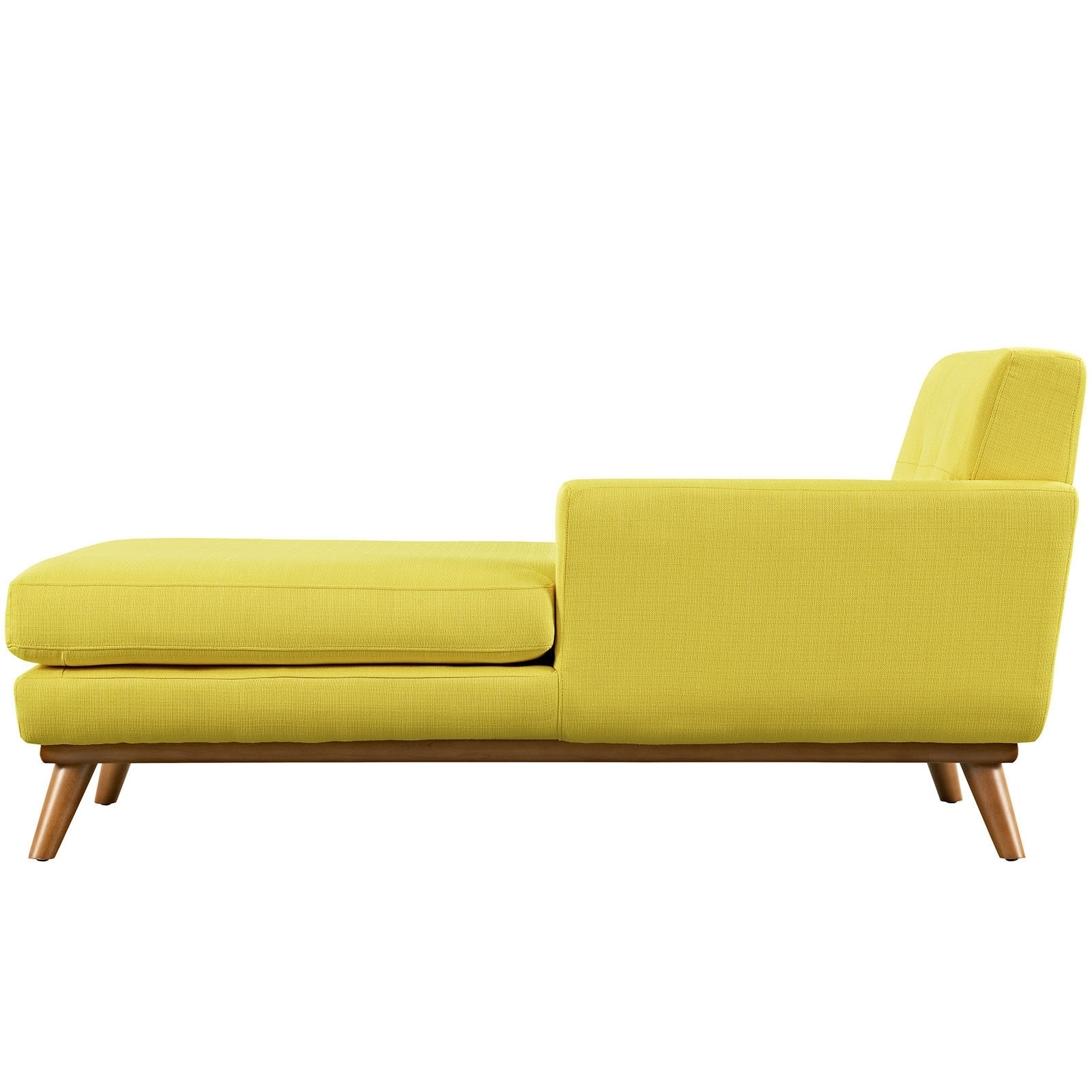 Latest Yellow Chaise Lounges For Engage Left Arm Mid Century Chaise Lounge – Free Shipping Today (View 14 of 15)
