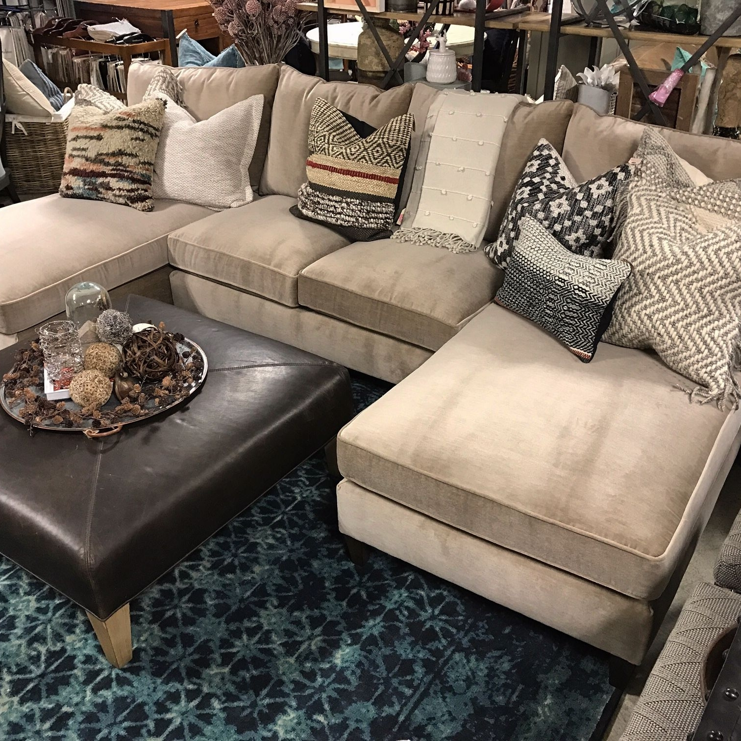 Latest You Can't Go Wrong With A Double Chaise End Sectional! The Melania Inside Sectional Sofas With Double Chaise (View 9 of 15)