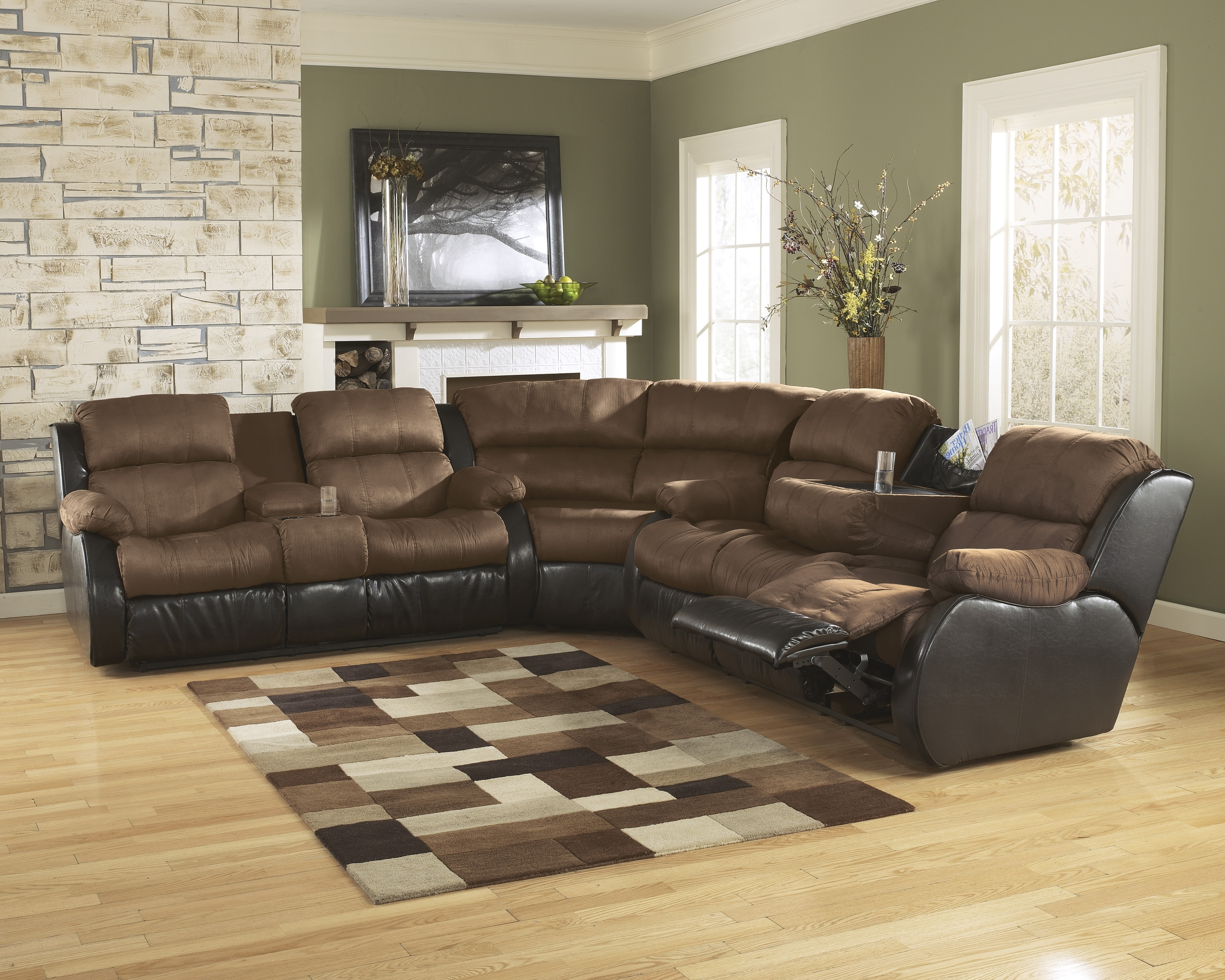 Layaway Sectional Sofas For Most Recent Furniture: Ashley Signature Sectional (View 7 of 15)
