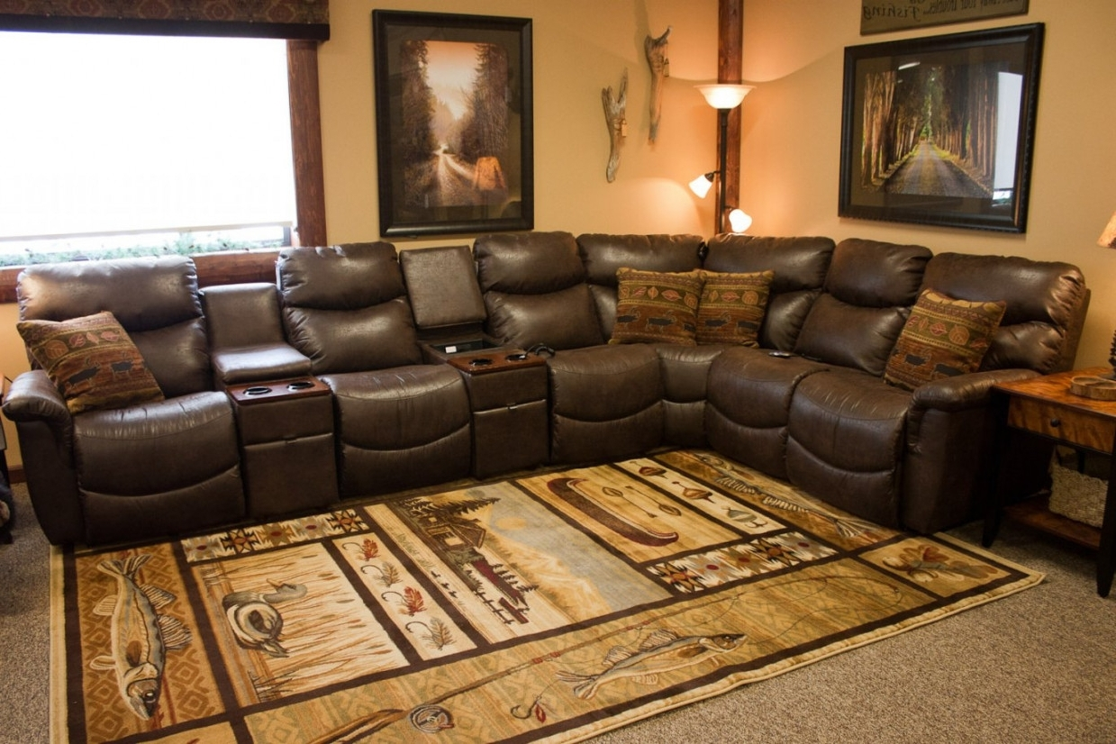 Lazy Boy Sectional Sofas With Recliners (View 5 of 15)