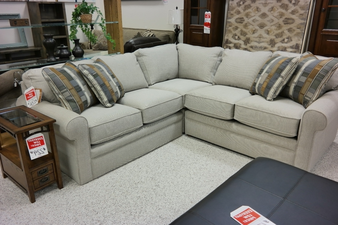 Lazyboy Sectional Sofas Throughout Well Liked Lazy Boy Collins Sectional Sofa (View 8 of 15)