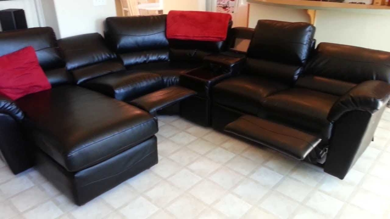Lazyboy Sectional Sofas With Regard To Latest Lazy Boy Sectional Sofa – Youtube (View 9 of 15)