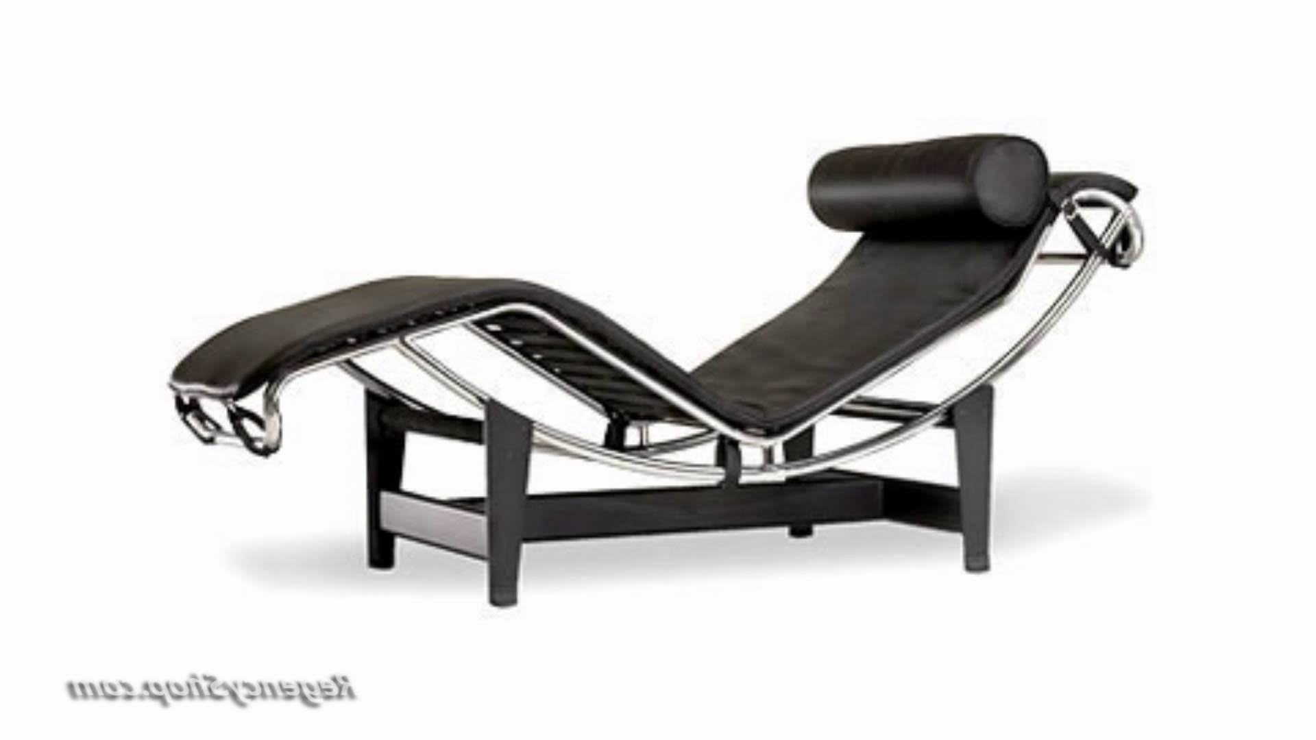 Lc4 Chaise Lounges Regarding Famous Le Corbusier Lc4 Chaise Lounge Chair – Regencyshop – Youtube (View 9 of 15)