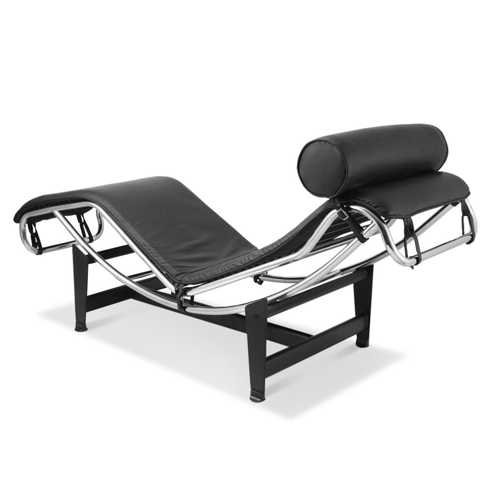 Le Corbusier Chaise Lounges Within Most Popular Amazon: Artis Decor Le Corbusier Style Lc4 Chaise Lounge Chair (View 13 of 15)