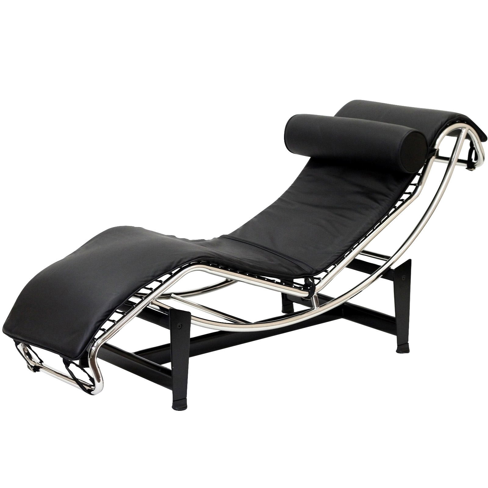 Leather Chaise Lounge Chair – Decofurnish Regarding Well Known Modern Leather Chaise Longues (View 5 of 15)
