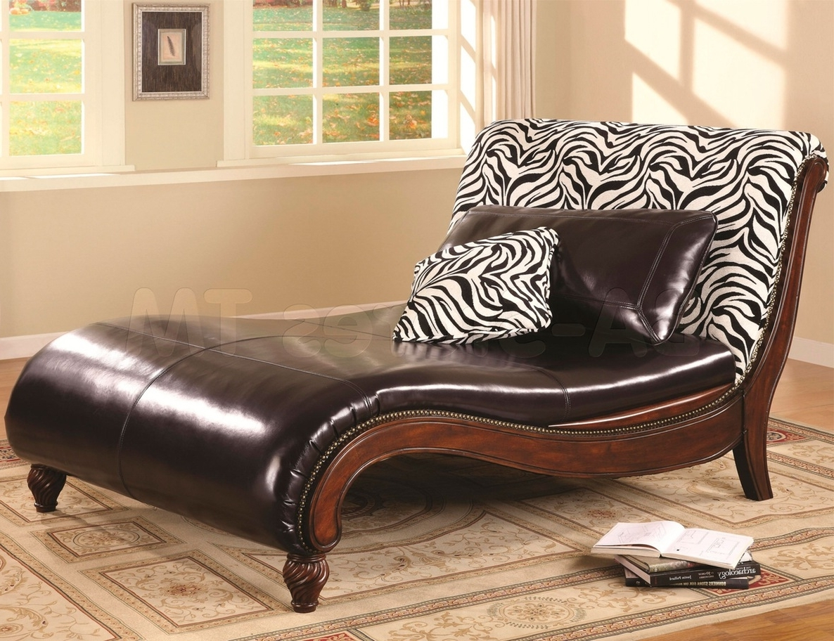 Leather Chaise Lounge Sofa Furniture Exotic Classic Brown Leather With Famous Brown Chaise Lounges (View 15 of 15)