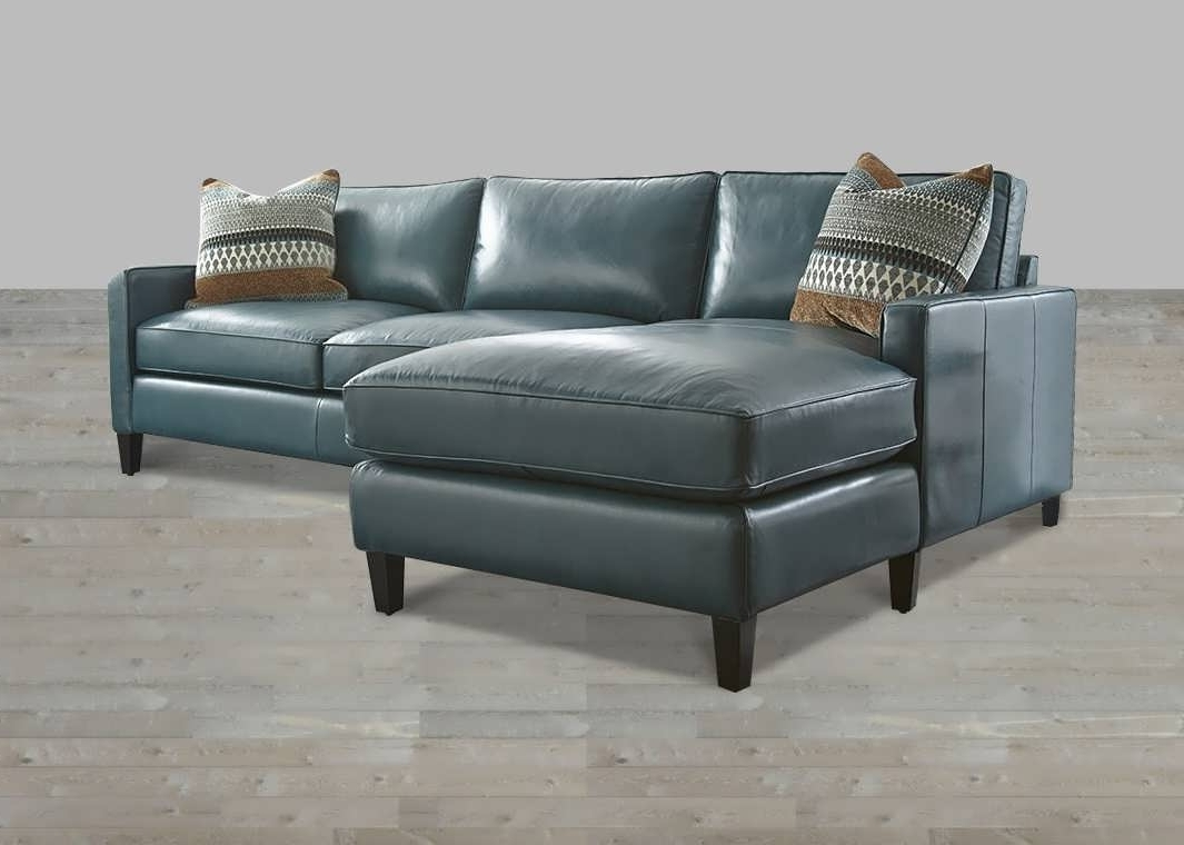 Leather Chaise Sofas With Regard To Most Popular Sofa : Leather Sectional With Chaise Red Sectional Sofa Sectional (View 9 of 15)