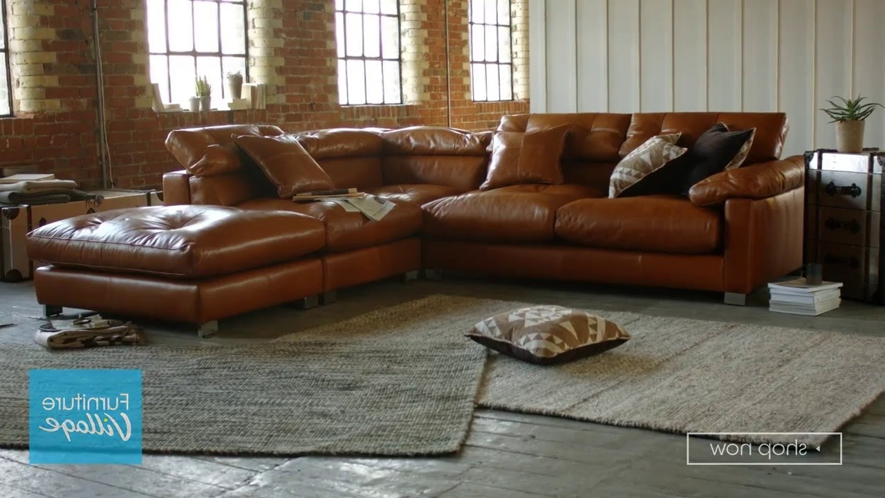 Leather Chaise Sofas Within Most Recently Released Corner Chaise Leather Sofa – Fusion (View 2 of 15)