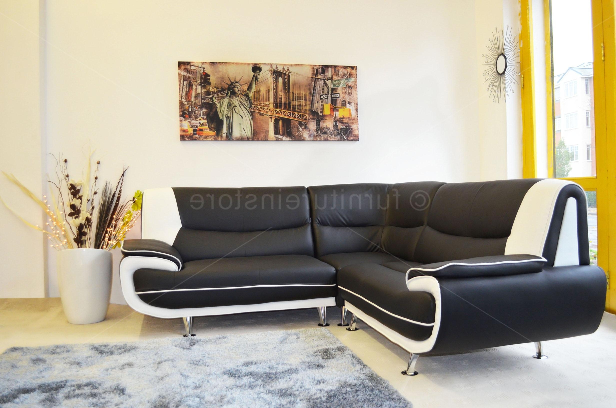 Leather Corner Sofas Pertaining To Most Recently Released Trend Leather Corner Sofa 98 For Sofas And Couches Set With (View 5 of 15)